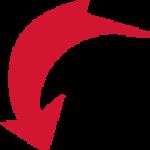 flecha-roja png